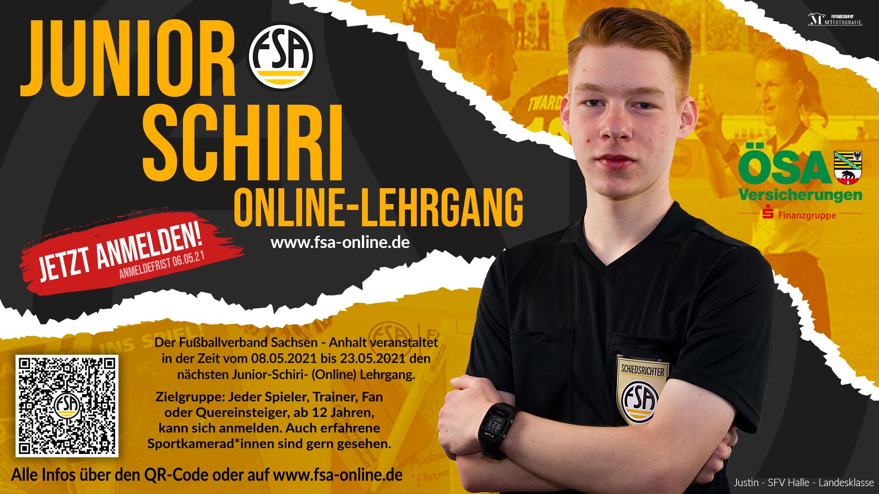 Junior Schiri Web Flyer