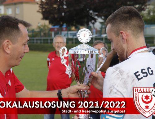 Stadt- und Reservepokal ausgelost – Saison 2021/2022 startet mit Pokalwochenende