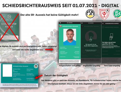 Vom Papierausweis zur digitalen Variante – DFB Schiedsrichterausweis