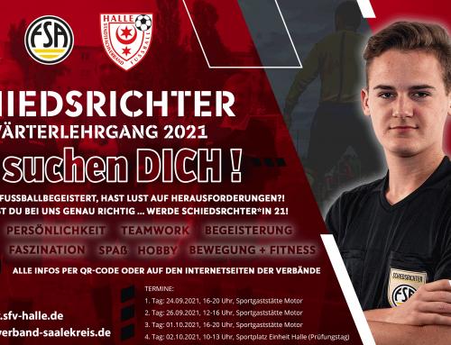 Schiedsrichter-Anwärterlehrgang 2021