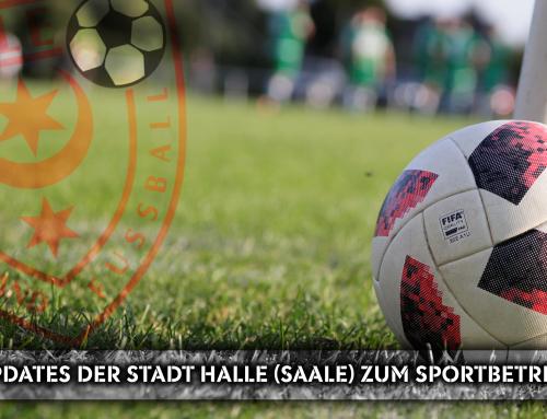 Updates der Stadt Halle (Saale) zum Sportbetrieb