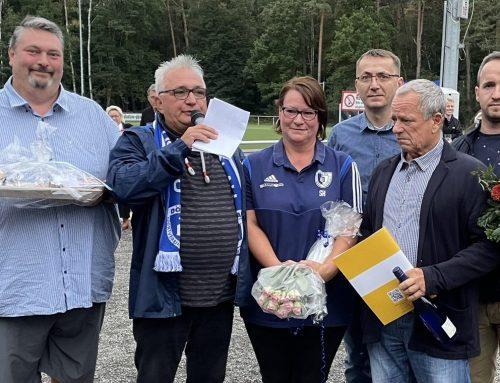 Dölau feiert doppelt: 30 Jahre Frauenfußball, 28 Jahre Mennicke-Präsidentschaft
