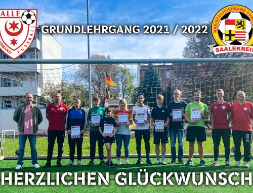 Willkommen – Neue Schiedsrichter*innen ausgebildet